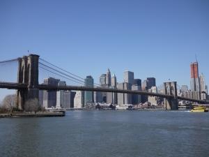 ブルックリンブリッジ 全景